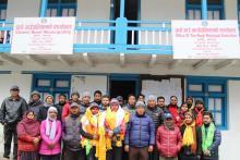 चामे गाउँपालिकामा नयाँ आउनु भएको कर्मचारी स्वागत कार्यक्रमको केहि झलकहरु