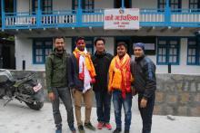 चामे गाउँपालिकाको सव-इन्जिनियर श्री दिपक तिमिल्सिना र पशु स्वास्थ्य प्राविधिक श्री अजय कुमार कुशवाहा को विदाईको केहि झलकहरु